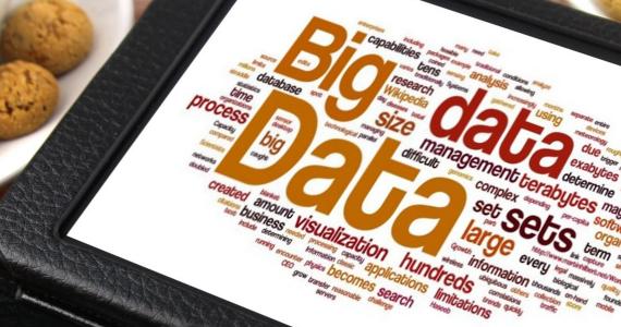 Illustration article data marketing