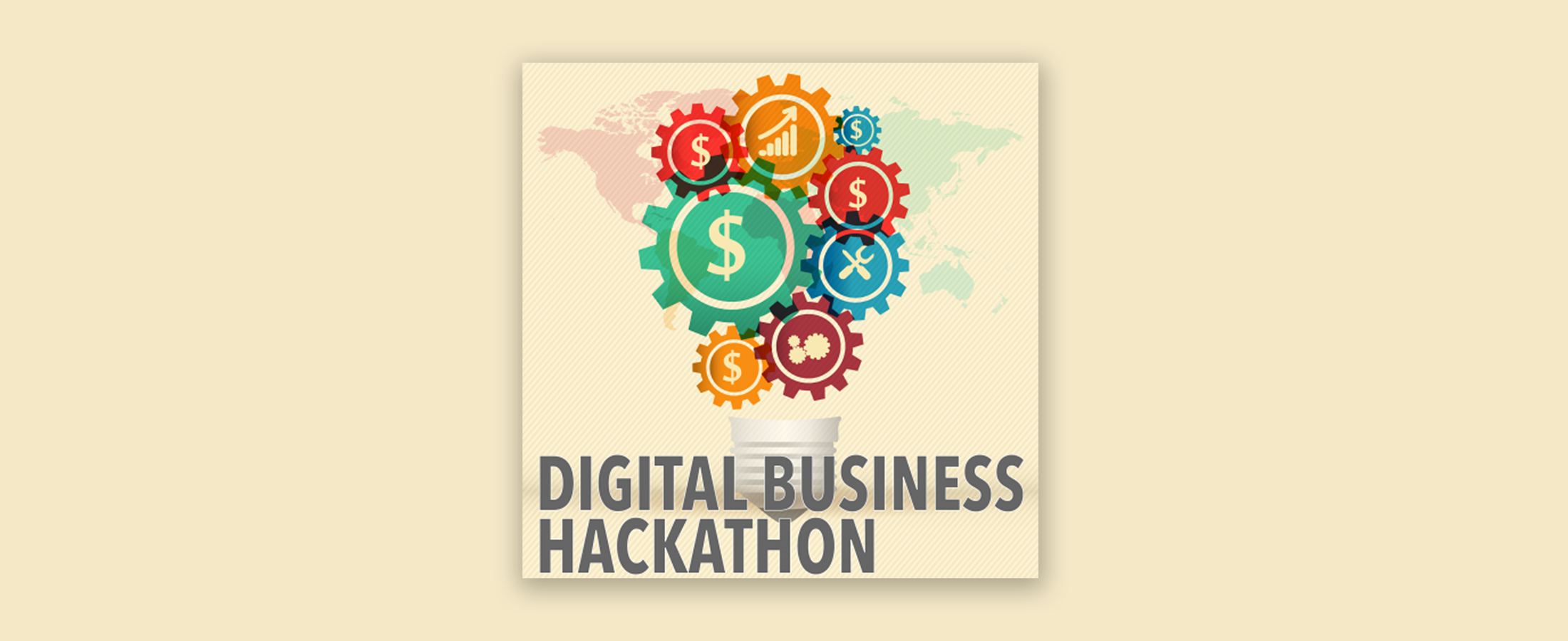 Illustration Digital Business Hackathon