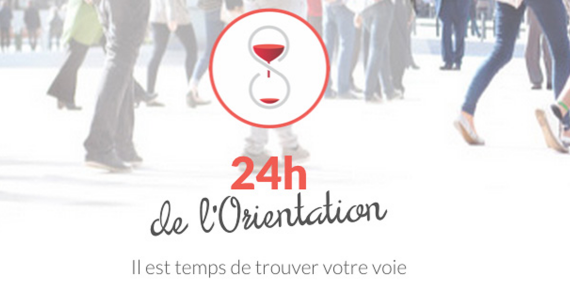 Illustration 24h de l'orientation