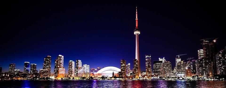 Illustration visiter Toronto Nuit