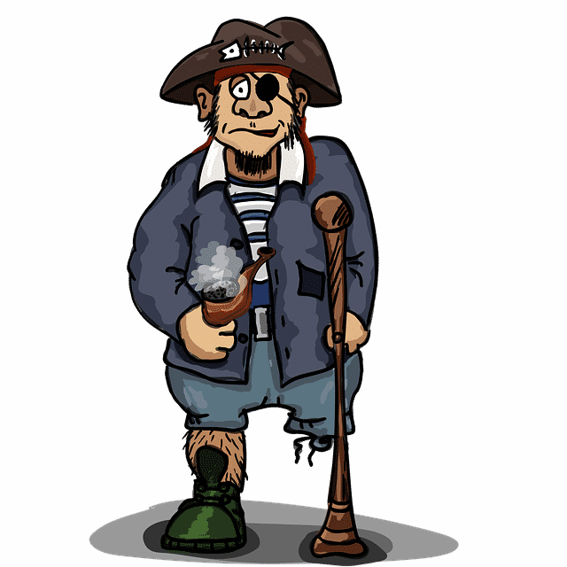 illustration pirate