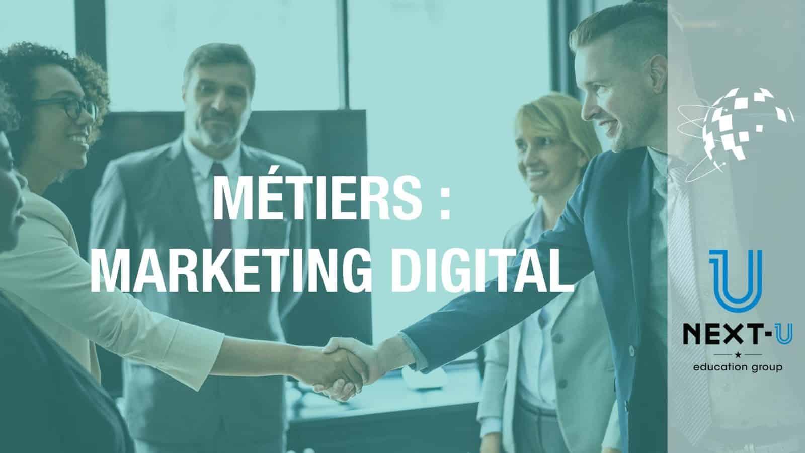 illustration métiers marketing digital