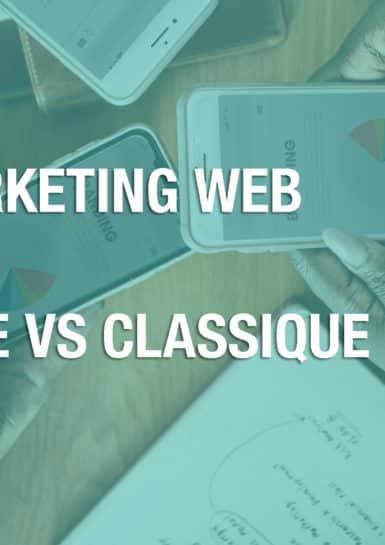 illustration marketing web mobile vs classique
