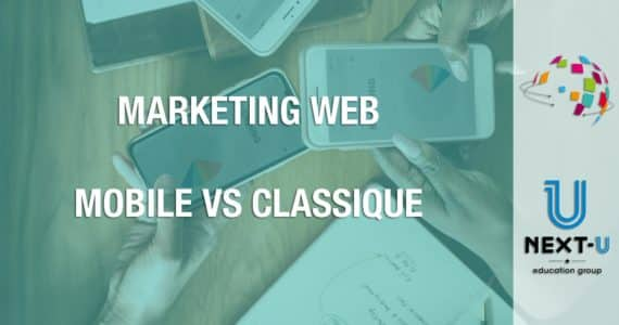 illustration marketing web mobile vs classique