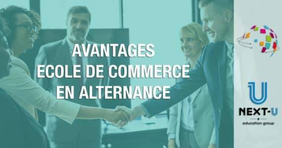 avantages ecole commerce alternance