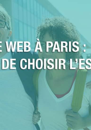 ecole web paris marketing digital web design métiers du digital métiers du web formation web